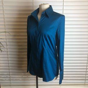 Banana Republic |Royal Blue button-up dress shirt